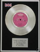 "LINDISFARNE - 7"" Platinum Disc - LADY ELEANOR"